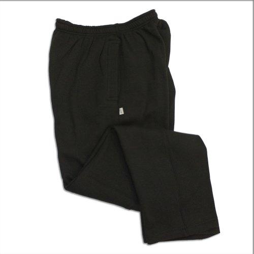 Pro Club Fleece Sweatpants 9.0oz 60/40 Large Black