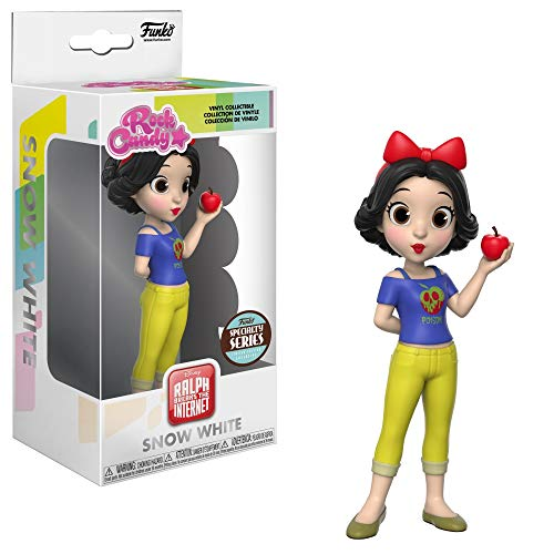 - Funko Rock Candy Wreck It Ralph - Snow White Specialty Series Vinyl Figure