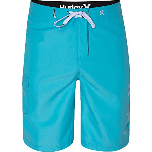 Hurley Mens One & Only Logo Board Shorts 32 Blue