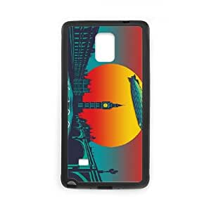 Led Zeppelin Sunset VC49KW7 funda Samsung Galaxy Note 4 Cell Phone caso funda R8VN5A5IC
