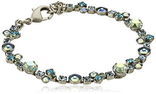 "Sorrelli ""Ocean"" Modern Crystal Tennis Bracelet, 7.25"""