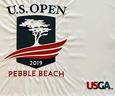 2019 u.s. open golf flag pebble beach embroidered logo new pga