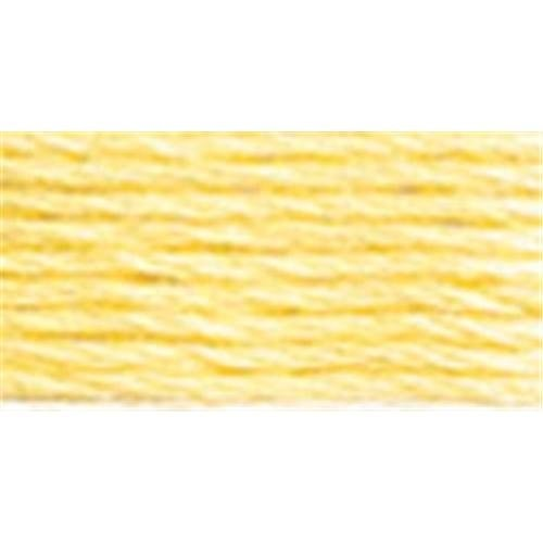 DMC 真珠コットンかせサイズ 3 - 16.4 ヤード非常に軽いゴールデン イエロー B00266Y7LE
