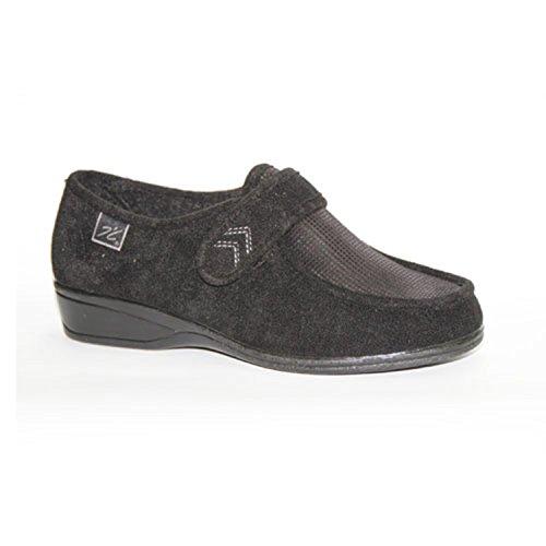 Chaussures Velcro pieds très délicats Doctor Cutillas en noir