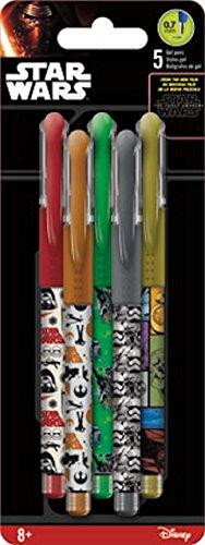 Inkworks Star Wars The Force Awakens Colored Gel Pens (5 Pack)