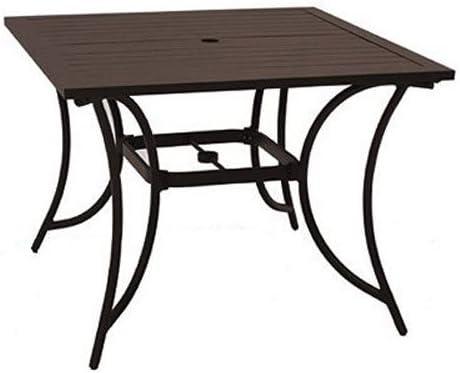 Patio Master ALH31312K01 Bellevue 40 Square Table