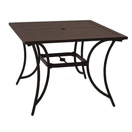 Amazon patio master alh31312k01 bellevue 40 square table patio master alh31312k01 bellevue 40quot square table watchthetrailerfo