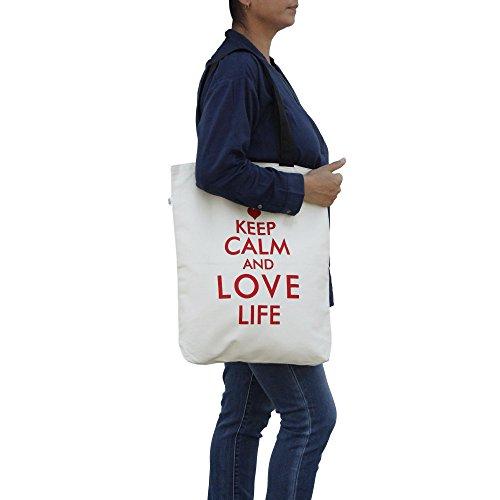 Shalinindia–lona de algodón multiusos bolsa de la compra tamaño–H-45X W-38cm, correas–�?5cm Multi_3