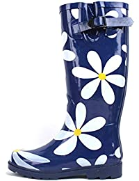 G4U Women's Rain Boots Multiple Styles Color Mid Calf...