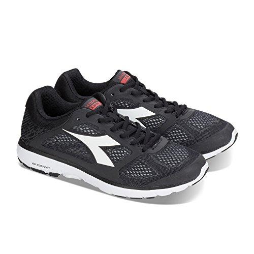 Homme Running NOIR Compétition Diadora X Run BLANC de Chaussures CANDIDO C2069 Yw6Uq
