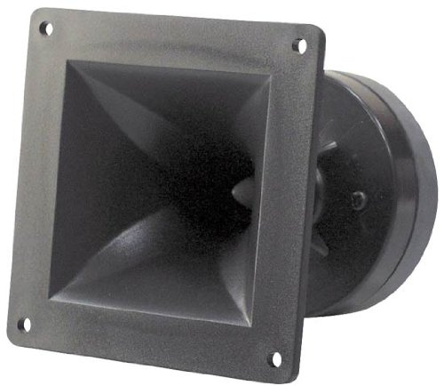 Pyle-Pro PH44 150 Watt Compression Horn Tweeter (4-inch x 4-inch) ()
