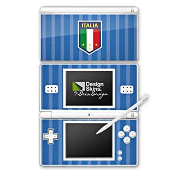 Nintendo DS Case Skin de vinilo adhesivo decorativo Italia EM Camiseta de fútbol Copa Europa