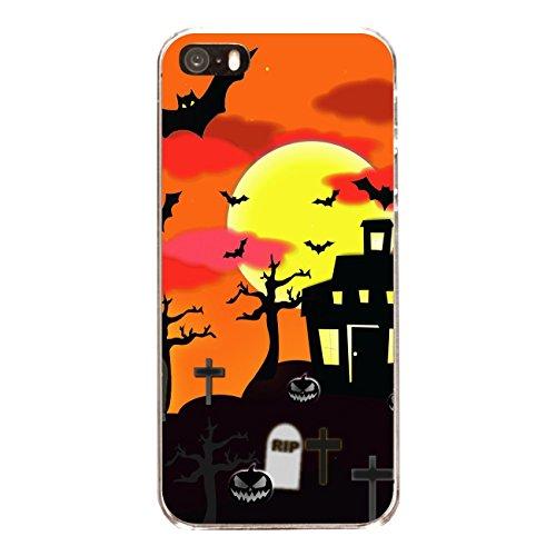 """Disagu Design Case Coque pour Apple iPhone SE Housse etui coque pochette """"Scary House"""""""