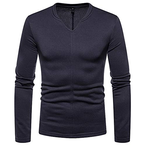 Blouse Clearance Tops AfterSo Men Fahion V-Neck Sweatshirt Sweaters Pullover ()
