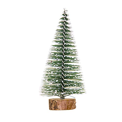 BESTOYARD Mini Christmas Tree Artificial Xmas Tree Desktop Decorations (6 x 10cm)