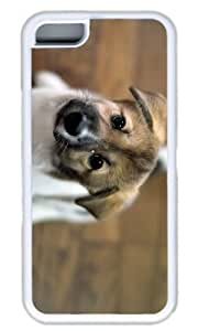 Cut Dog Pet Case for ipod touch 5 ipod touch 5 TPU White by Cases & Mousepads