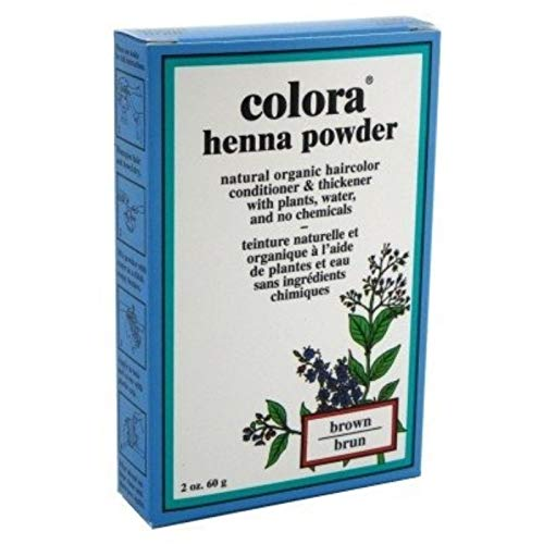- Colora Henna Powder Hair Color Brown, 2 oz