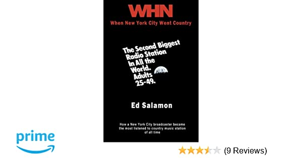 WHN: When New York City Went Country: Ed Salamon
