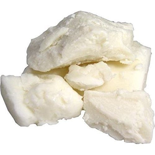 Raw Unrefined African Shea Butter Bar - 1 to 10 lbs Block Bar Various Size by Sheanefit (Ivory, 10lbs)
