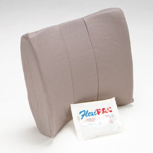 Softeze Memory Foam - Softeze Memory Foam Lumbar Cushion with Gel Pack