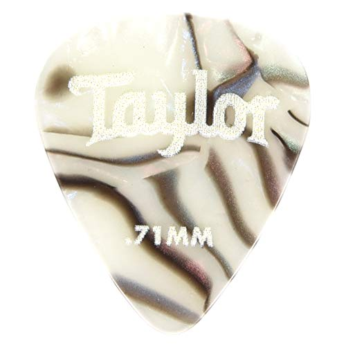 - Taylor Celluloid 351 Picks Abalone 0.71mm 12-Pack