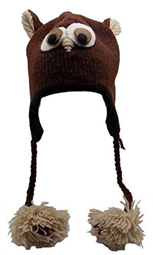 76ee19ea90f Galleon - Animal Hat Beanie 100% Wool