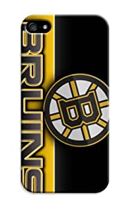 Nhl Boston Bruins Hockey Soft Gel Tpu Rubber Skin Cover Case Compatible With Iphone 5/5S