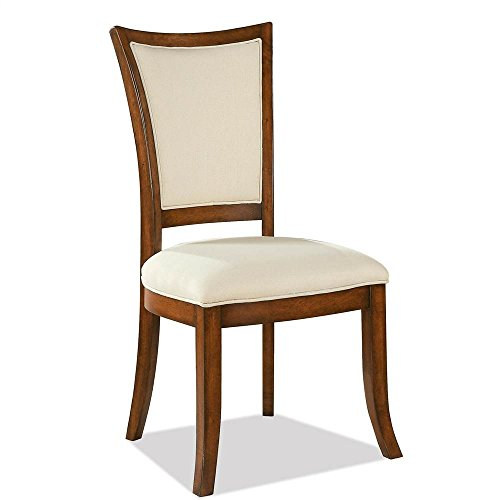 Riverside Dining Furniture - Upholstered X-Back Side Chair - Set of 2