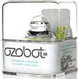 Ozobot 2.0 Bit, the Educational Toy Robot that Teaches STEM and Coding, Crystal White