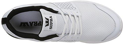 Black Aqua Hombre Zapatillas Supra Blanc White Scissor pnqaYPwX