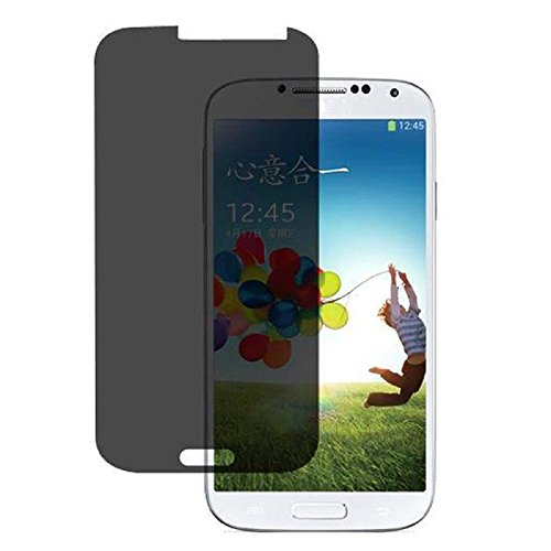 NewPlus Privacy Anti-Spy Tempered Glass Screen Protector Shield Guard for Samsung Galaxy S4 - Anti-Peep, High-Response Touch, Oleophobic Coating, Industry-High 9H Hardness - Scratch Terminator
