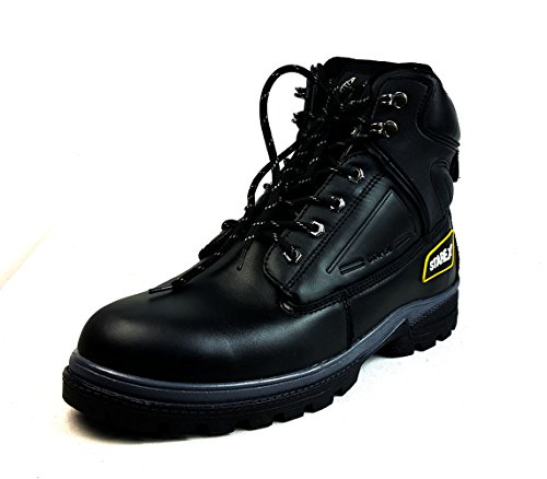 Starex | impermeabile | |fg dita in acciaio da trekking di sicurezza stivali in pelle A903nero