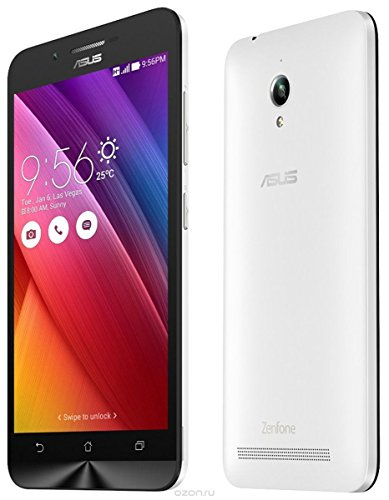 "Asus Zenfone GO 3G h+ Unlocked Android Dual sim ZB452KG Global 4.5"" 8GB Quad Core Desbloqueado (White)"