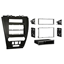 Metra 99-5821B Single or Double DIN Installation Dash Kit for 2010 Ford Fusion and Mercury Milan (Matte Black)