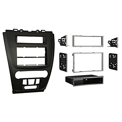 Metra 99-5821B Single or Double DIN Installation Dash Kit for 2010 Ford Fusion and Mercury Milan (Matte - Ford Installation Kit