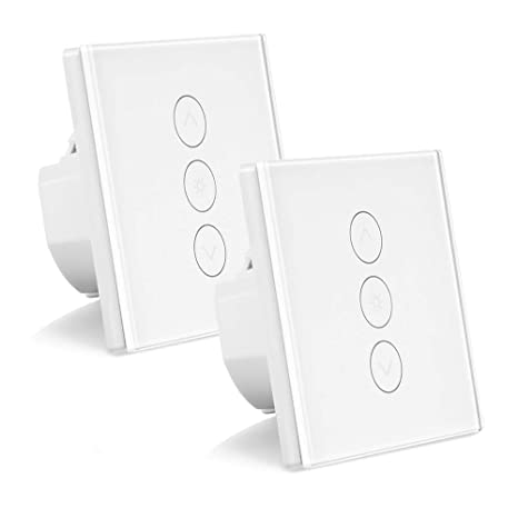 Turbo ALLOMN 2 Pack Smart Dimmer Schalter WLAN Berühren Lichtschalter GW09