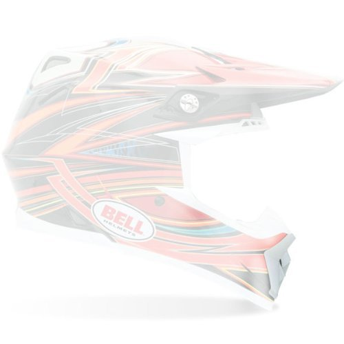 Bell Moto-9 Replacement Chin Vent White by Bell (Image #1)