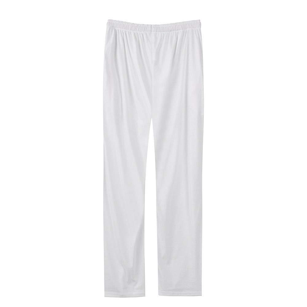 YanHoo Pantalones de chándal Sueltos sólidos Casuales de los Hombres de la Moda Pantalones de Baile Pantalones de Jogging Camuflaje Militar Medias de ...