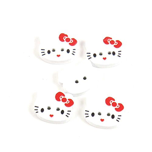 hello kitty buttons for sewing - 6