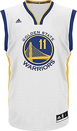 Golden State Warriors Nba Klay Thompson jóvenes carretera réplica de la camiseta (blanco), Blanco: Amazon.es: Deportes y aire libre