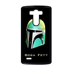 Generic Custom Design With Star Wars Boba Fett Green Helmet Personalised Back Phone Case For Kids For Lg Optimus G3 Choose Design 1