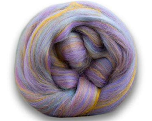 4 oz Paradise Fibers Soft & Silky Bambino Itsy Bitsy - 85% 23 Micron Solid Color Merino Wool and 15% Dyed Bamboo Blend
