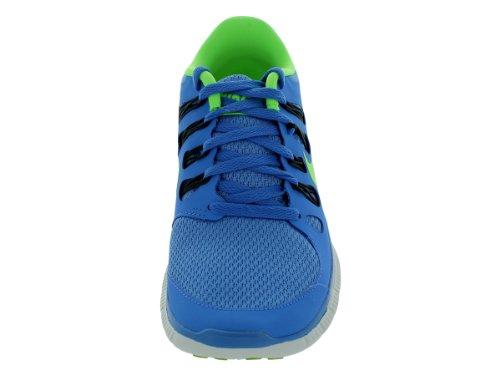 Nike Free 5.0+ 580591-002 Damen Laufschuhe Blau (Blau/Neongrün)