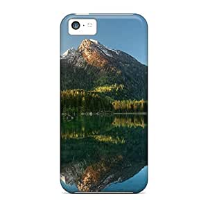 MMZ DIY PHONE CASECute Appearance Cover/tpu YLY204iZOE Beautiful Hintersee Austria Case For iphone 6 plus 5.5 inch