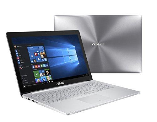 ASUS UX501JW-UB71T Laptop (Windows 10 Home 64-Bit, Intel Core i7-4720HQ, 15.6 LED Screen, Storage: 512 GB, RAM: 16 GB) Silver