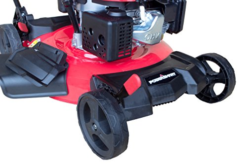 PowerSmart DB8621C Gas Push Mower Walk Behind Lawn Mowers