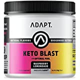 Adapt Keto Blast: Exogenous Ketones BHB Salts, Formulated for Ketosis, Energy & Fat Metabolism, Beta-Hydroxybutyrate (Calcium, Sodium, Magnesium) - Raspberry Lemonade
