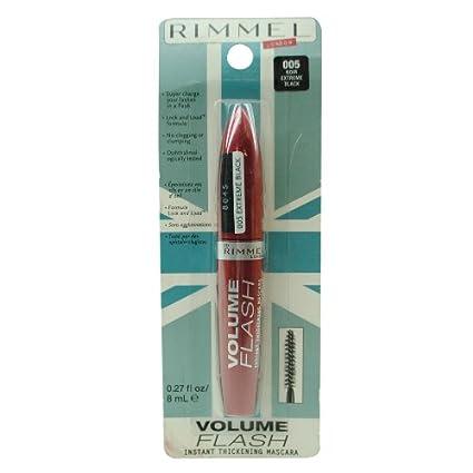 Rimmel London Volume Flash Instant Thickening Mascara Noir Extreme Black 005 by Rimmel