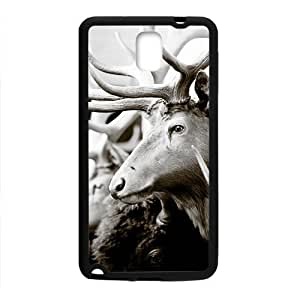Antelopes Black Phone For Iphone 4/4S Case Cover