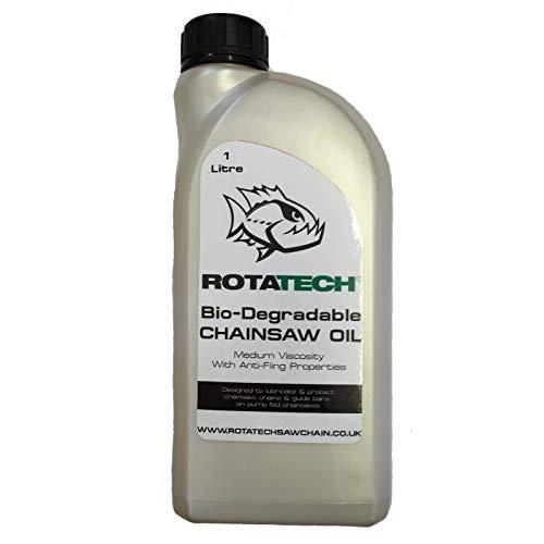 Auténtico Rotatech Biodegradable 1L para uso con Aldi motosierras ...